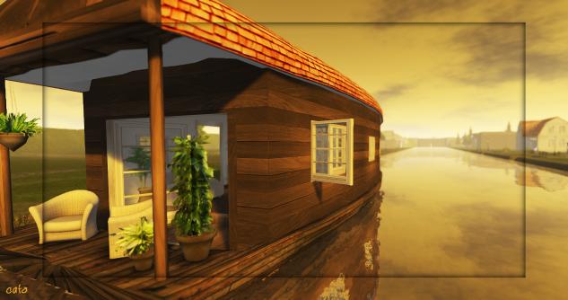 Houseboat: very gezellig!
