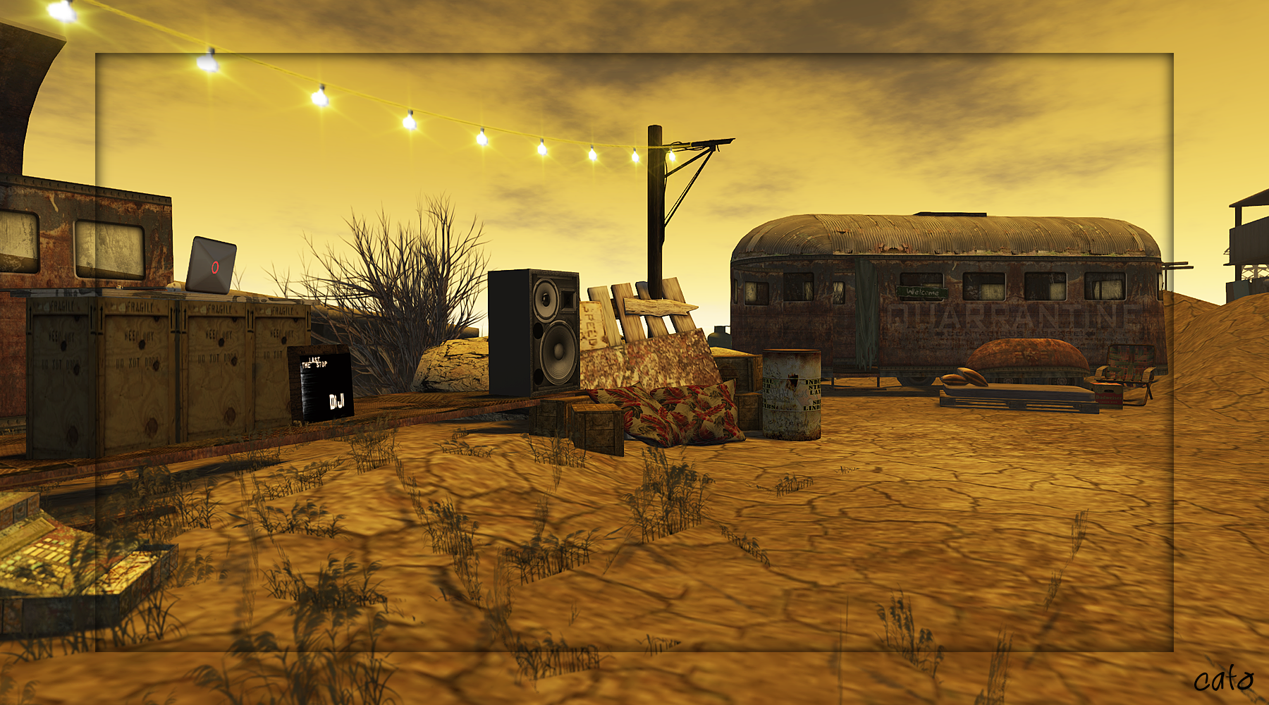 The Last Stop A Nuclear Wasteland Cait S World