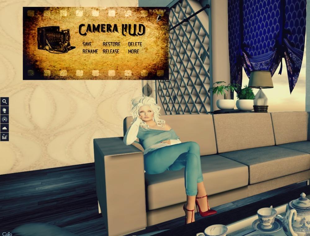 Camera HUD sofa - I