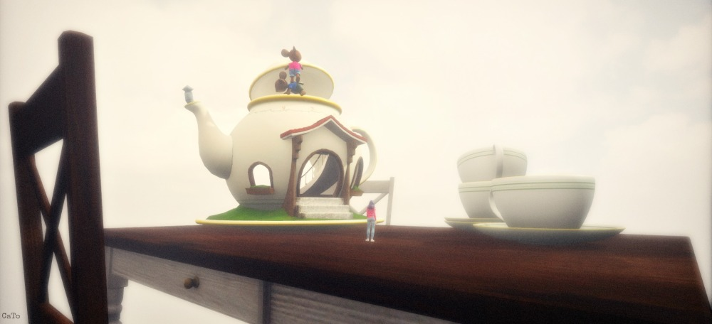 Sansar - Teatime by Sway Dench