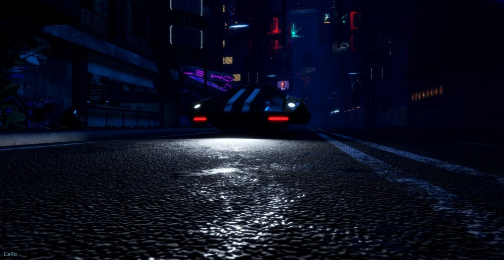 2077 in Sansar - A blogpost - II